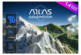 3D Map Generator – Atlas 1.4