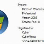 WinXP Version Changer