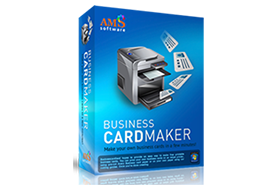 AMS Business Card Maker 9.15